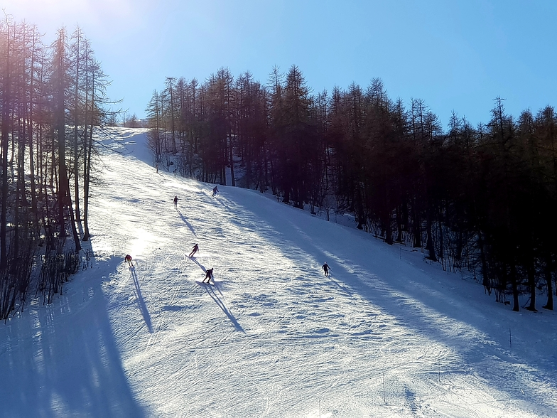 Val d'Allos 1500 Le Seignus snow