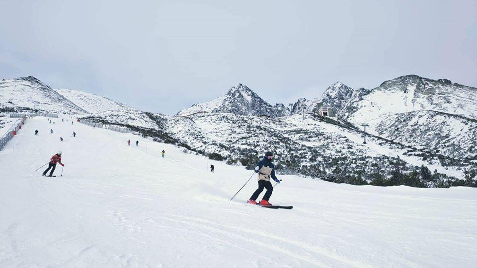 "50cm (20"") of fresh snow, Tatranská Lomnica"