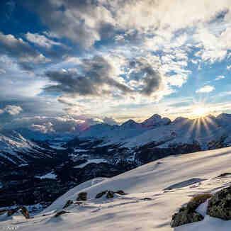 Engadin mountain, La Punt/Engadin