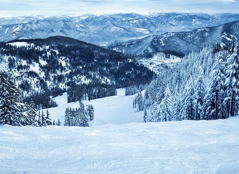 Silver Mountain snow