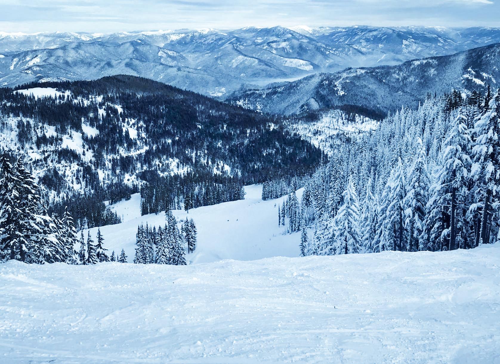 Silver Mountain, North Idaho