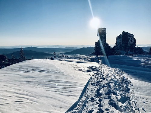 Sheregesh Ski Resort by: Mikhail