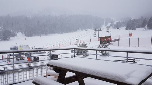 Formigueres Ski Resort by: Snow Forecast Admin