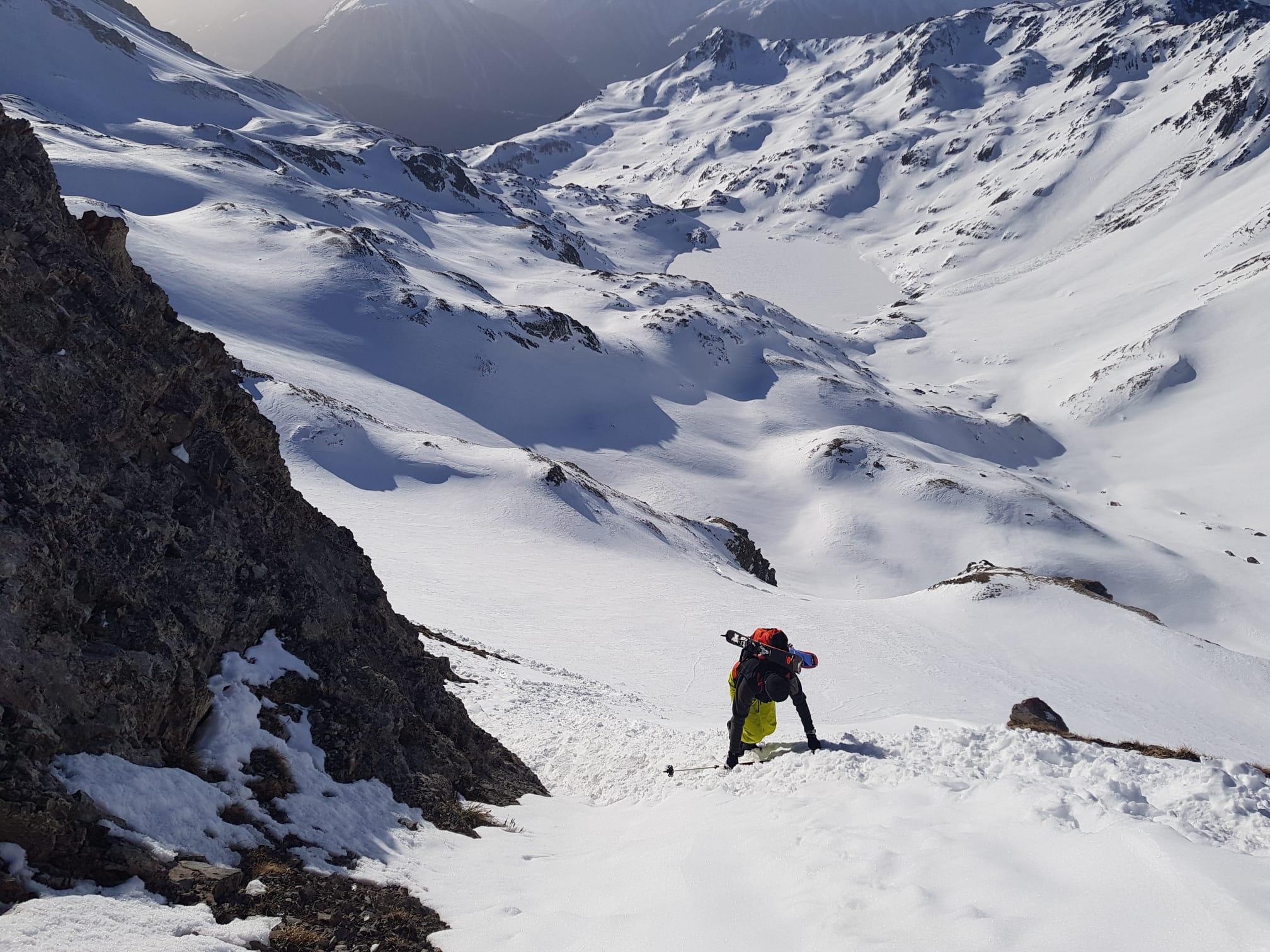 The Ice wall to summit, Villars