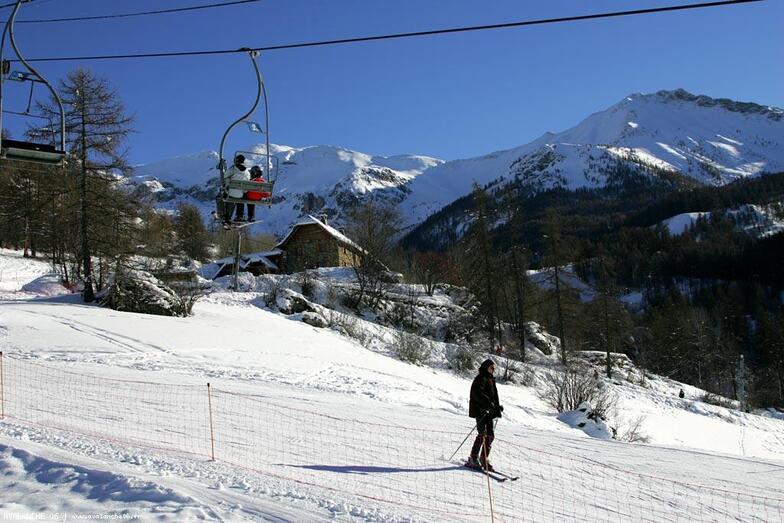 secteur de l'Alp 1650m-2400, Sauze Super-Sauze