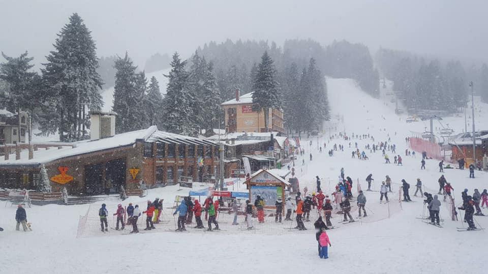 snow falling at last, Borovets