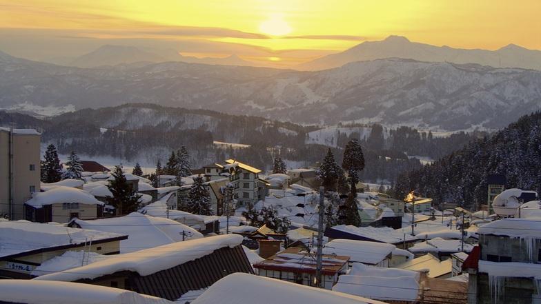 Land of the setting sun, Nozawa Onsen