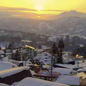 Land of the setting sun, Nozawa Onsen