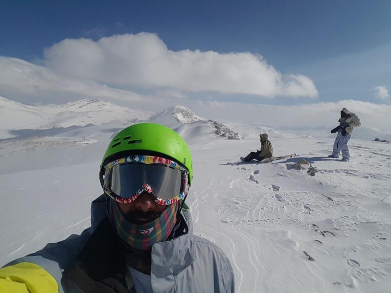 Top, Pooladkaf Ski Resort