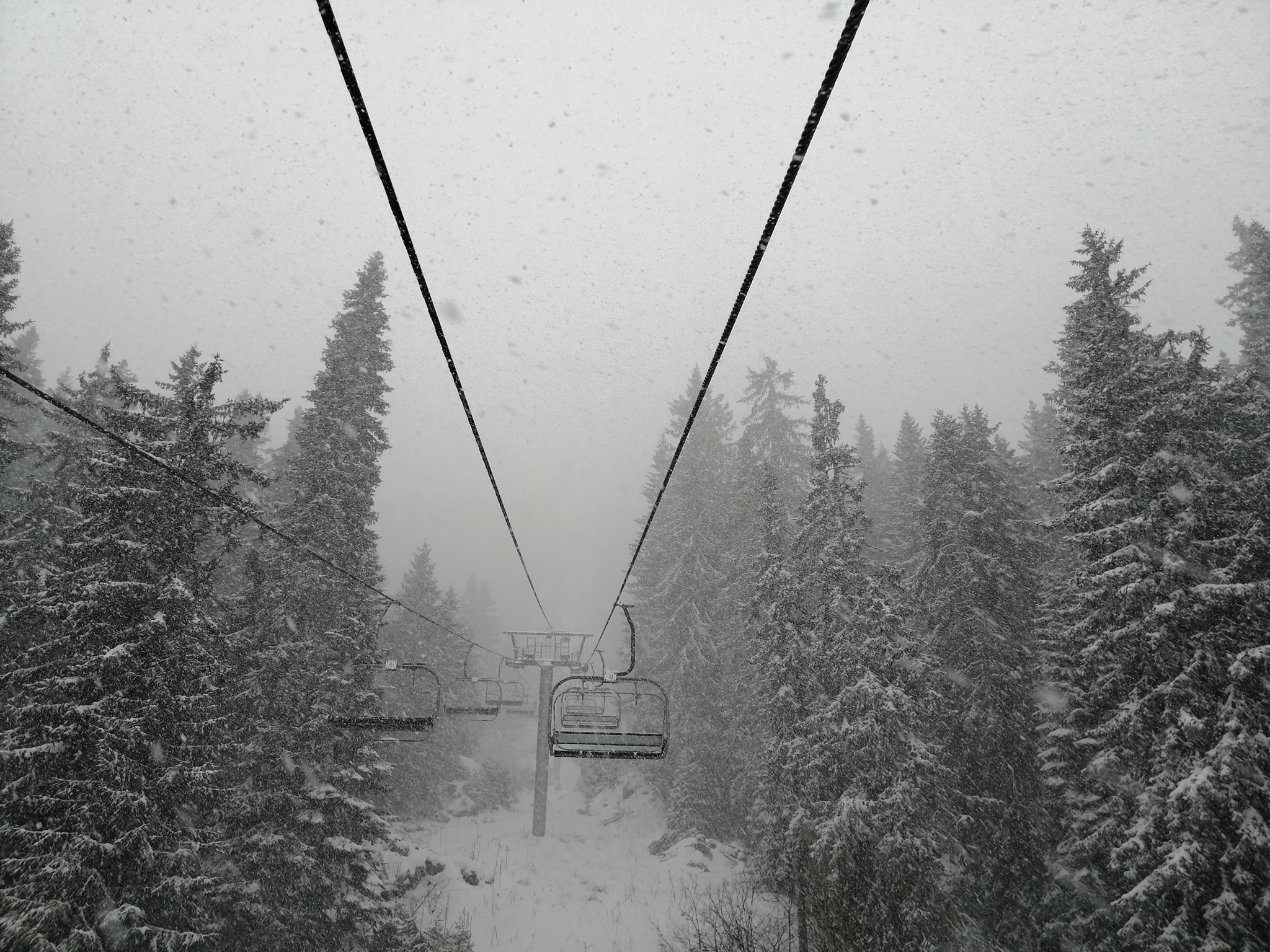 best snowstorm of the season so far for the country, Pamporovo