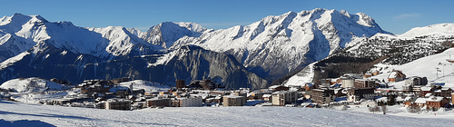 Alpe d'Huez Ski Resort by: Terry Roberts