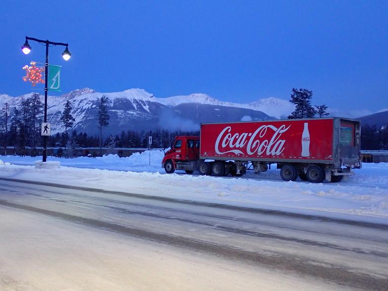 Anyone for a cold Coke!, Marmot Basin