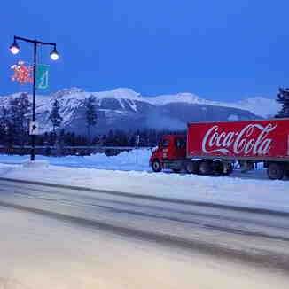 Anyone for a cold Coke!, Marmot Basin