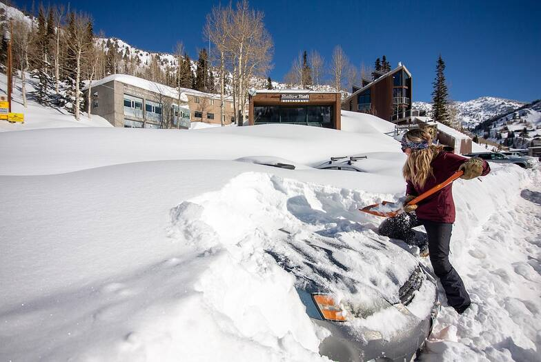 5ft (1.4m) for the Rockies at the weekend, Alta