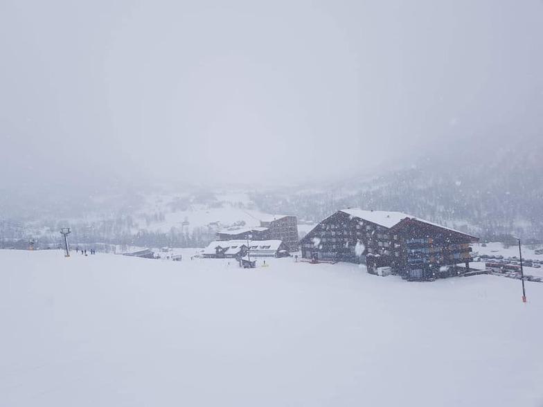Myrkdalen snow