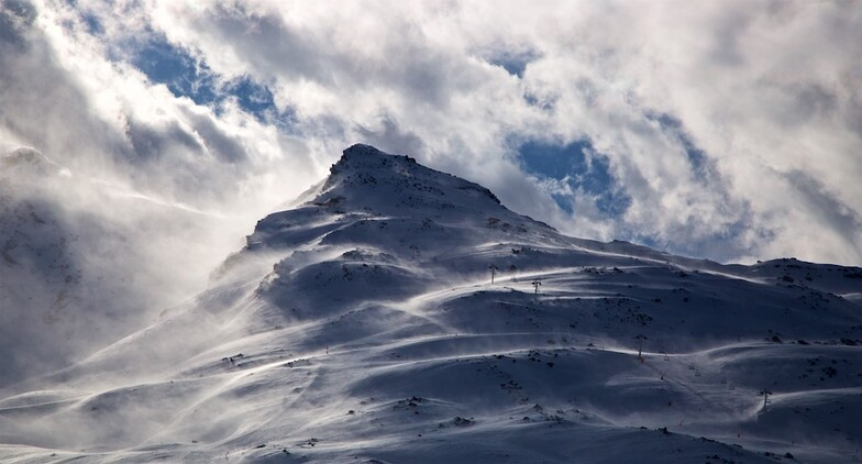 The north w wind, Val Thorens