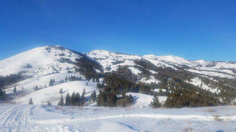 Soldier Mountain snow
