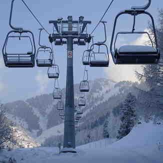 снежная зима, Ak-Bulak