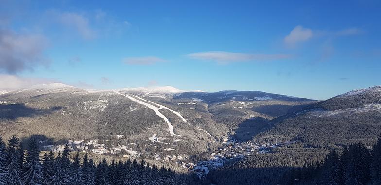 azure sky, Špindlerův Mlýn - Svatý Petr
