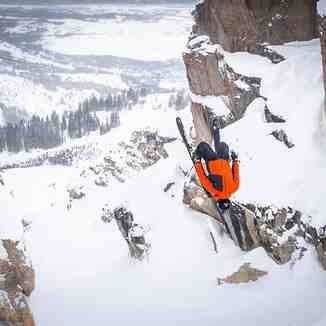 "1.4m (55"") on top of the 10m (400"") so far this season, Jackson Hole"