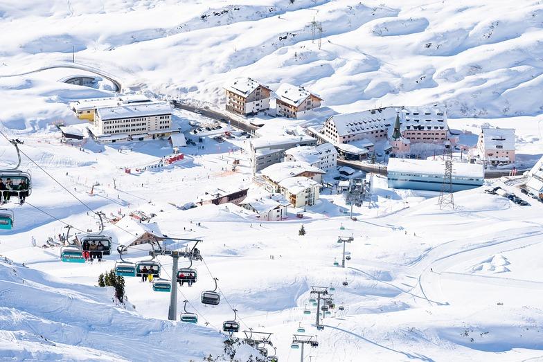 St. Anton snow