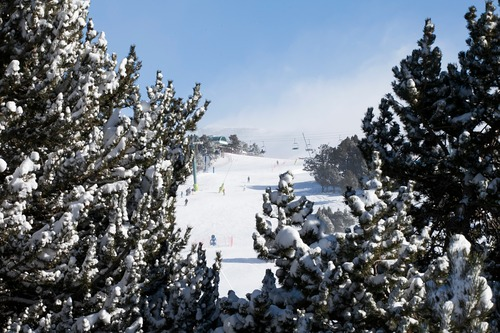 Grandvalira El Tarter Ski Resort by: tourist offical