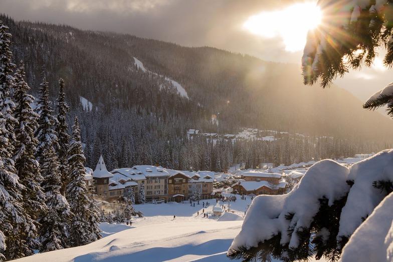 Sun Peaks snow
