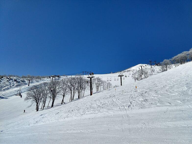The sun is out at Hakuba Village in Japan 22 Jan 2020, Hakuba Highland