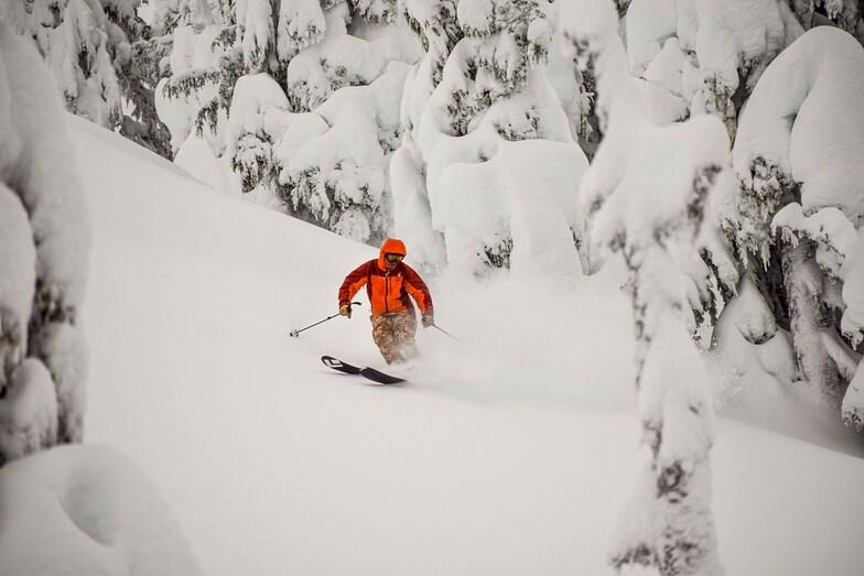 18 consecutive days with snowfall, Eaglecrest Ski Area