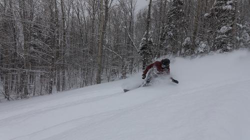 Le Massif Ski Area Ski Resort by: dandre