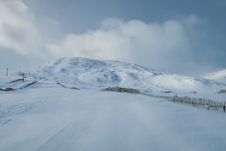 the most terrain open at Highland ski areas, Glencoe Mountain Resort