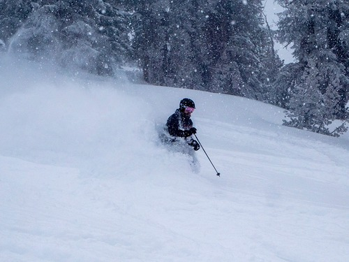 Mt Rose Ski at Tahoe Ski Resort by: tourist offical