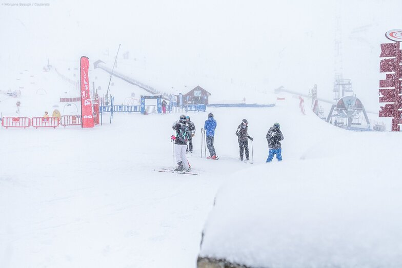 """up to 50cm/20"""" more snow expected at Cauterets"""