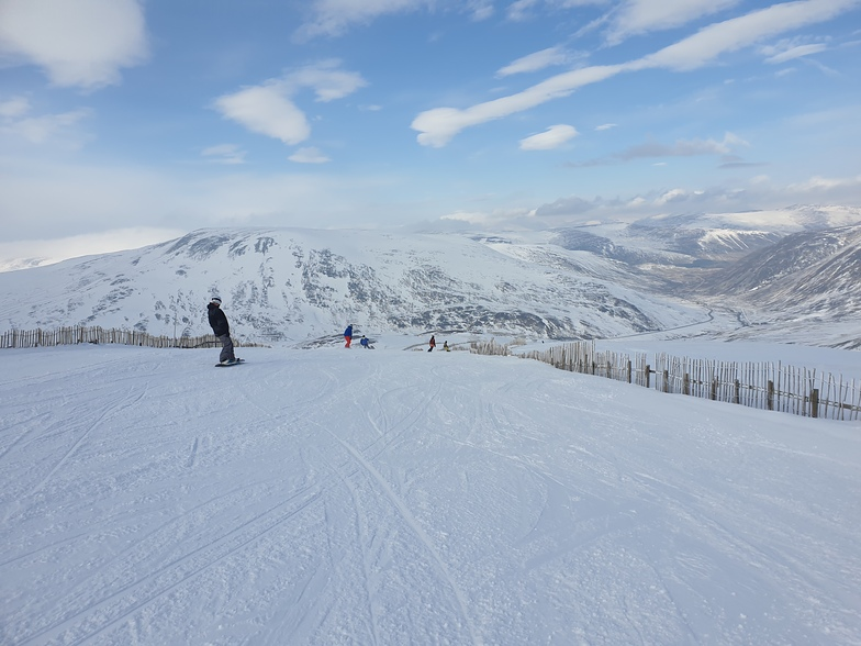 March 2020, Glenshee