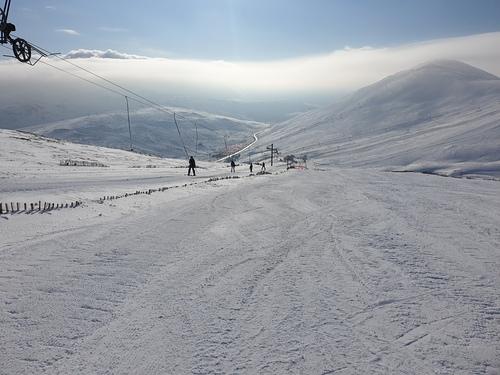 Glenshee Ski Resort by: dougiet33