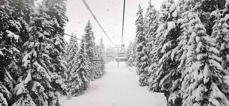 2nd half of season much snowier than 1st half, Borovets
