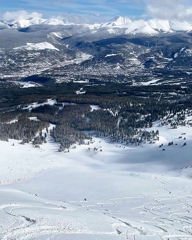 lots of snow yesterday, Breckenridge