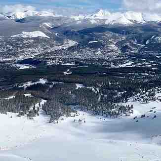 lots of snow yesterday, Breckenridge