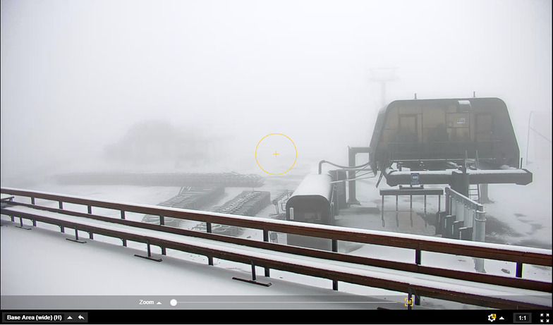 fresh snow on the 17th March, Mt Hutt
