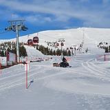 Ski areas in Finland are  still open., Yllas