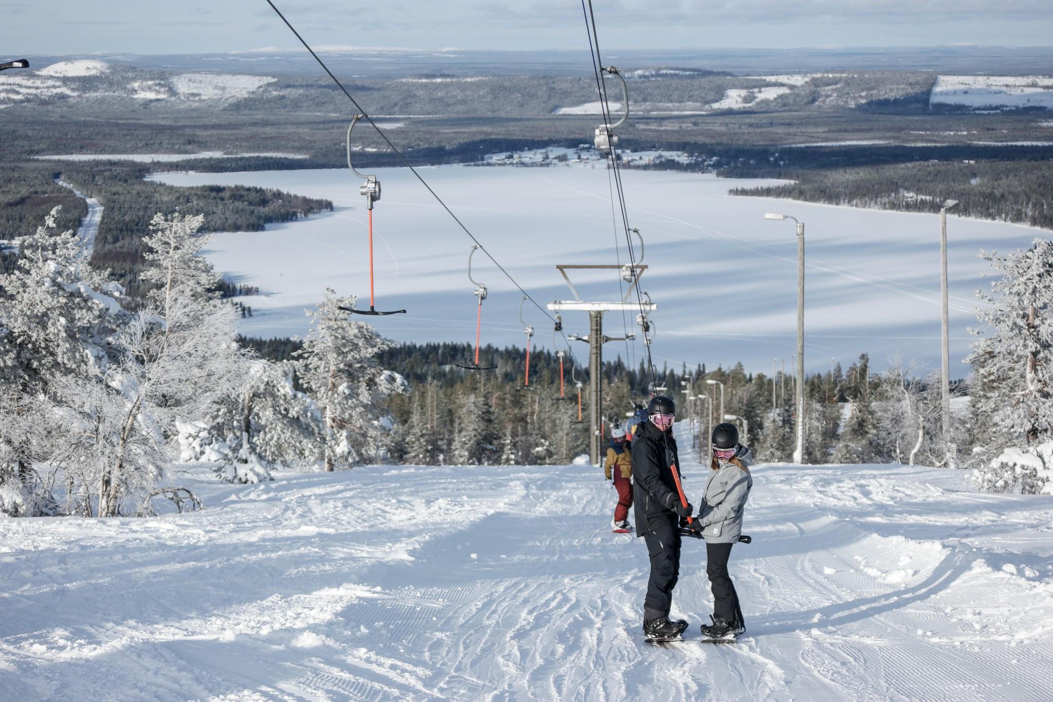 Pyhä Ski Resort Guía del complejo
