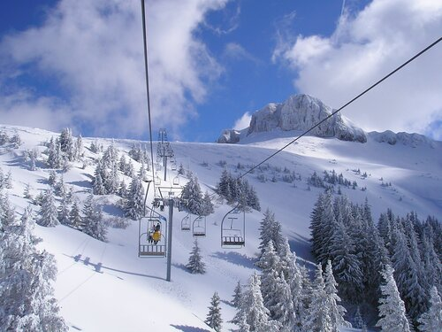 Thollon les Mémises Ski Resort by: tourist offical