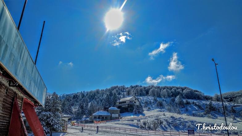 View of the ski resort of Seli