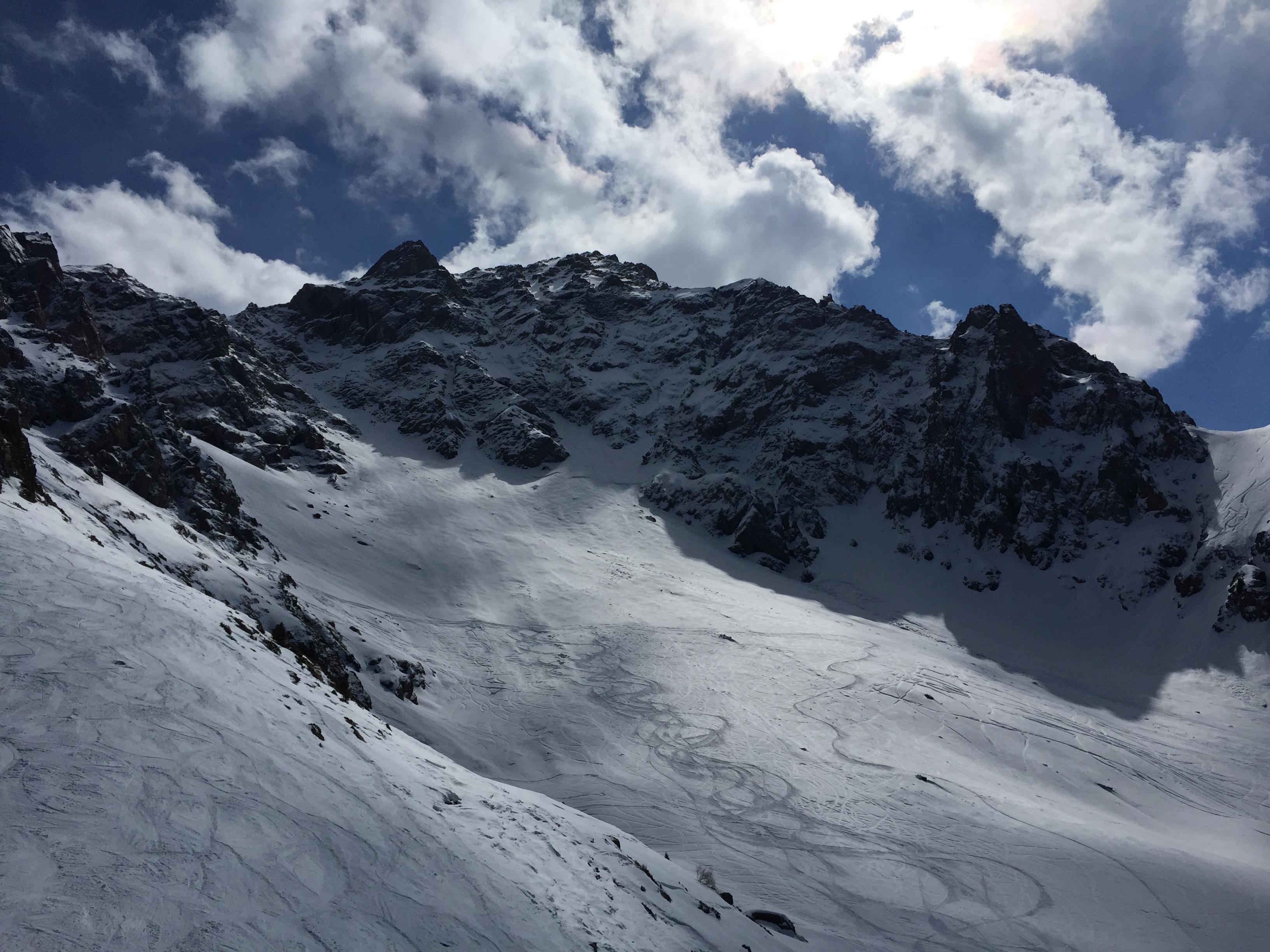 March skiing, Shymbulak