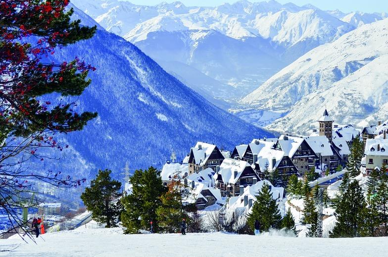 Baqueira/Beret snow