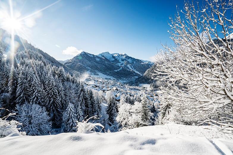 Chatel snow