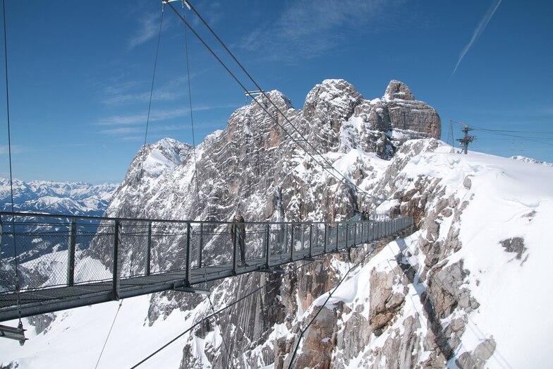 Dachstein Glacier snow