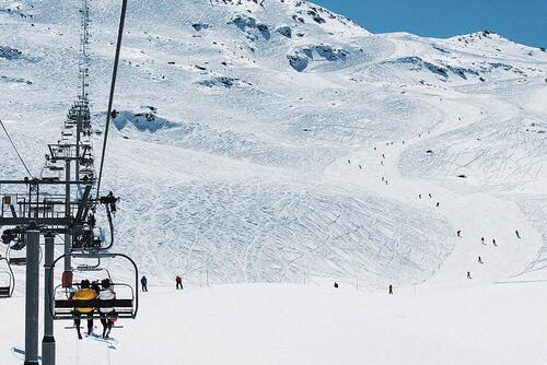 Méribel Ski Resort by: tourist offical