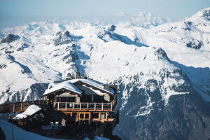 David Andre, Courchevel photo