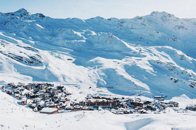 Val Thorens snow